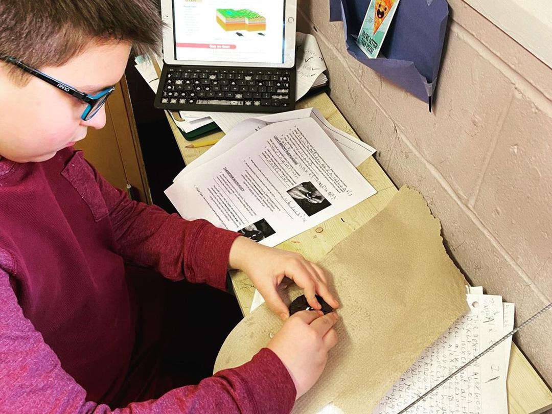 LAMA Tutoring Program Kid in Glasses 002