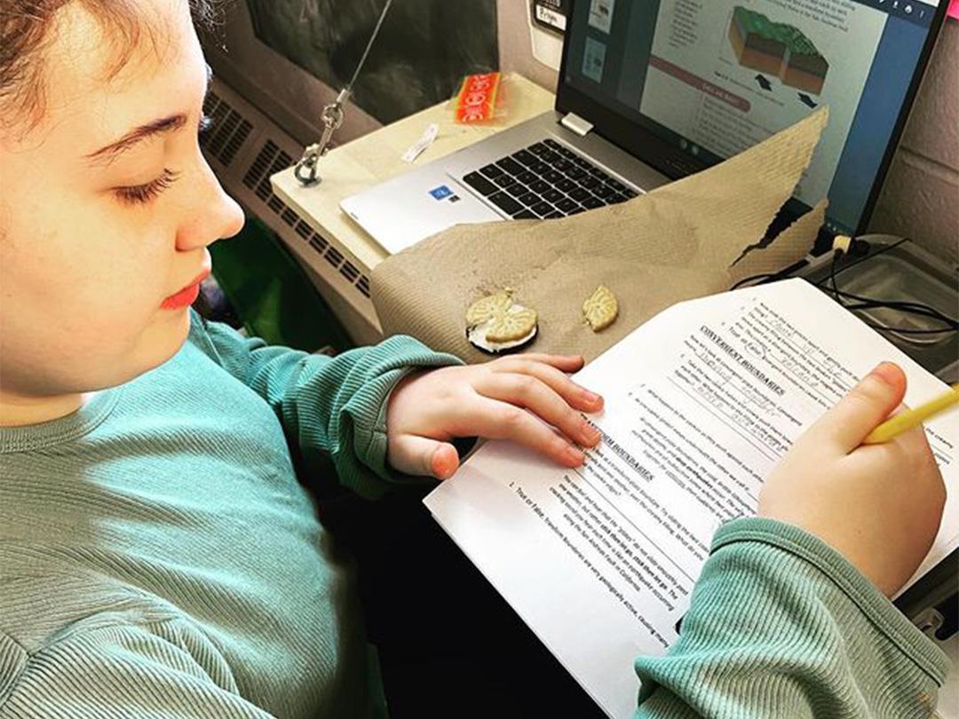LAMA Tutoring Program Kid Writing 003